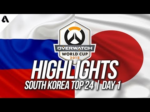 Russia Vs Japan | Overwatch World Cup 2018 South Korea Day 1 thumbnail