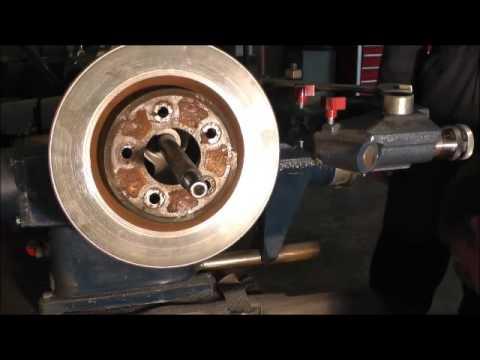 Resurfacing Brakes Rotors Tutorial - YouTube