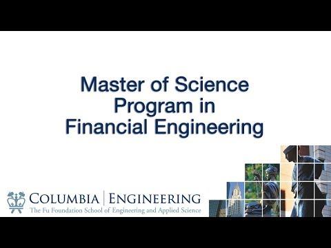 Master of Science Program in Financial Engineering