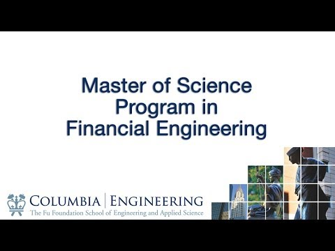 Master Of Science Program In Financial Engineering