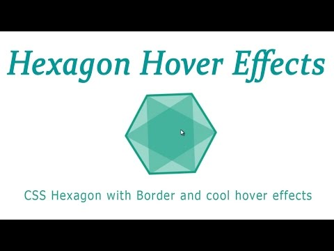 Triangle CSS, square and hexagon-creation of figures through