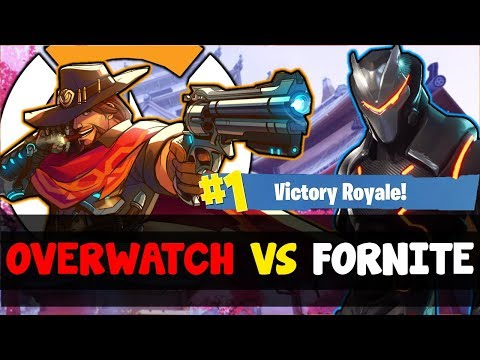 Why Do Overwatch Players HATE Fortnite So Much... (Stealing Overwatch Youtubers For Fornite: Muselk)