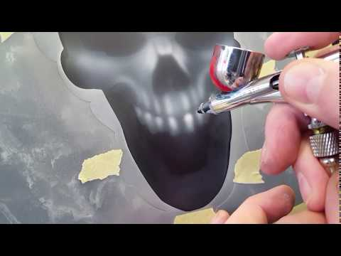 The Airbrush Academy Guide to Airbrushing Skulls n Fire