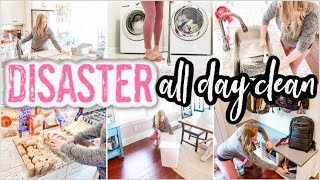 NEW! 2020 DISASTER ALL DAY CLEANING! | EXTREME CLEANING MOTIVATION | SPEED CLEAN | BEFORE & AFTER