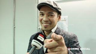 NONITO DONAIRE REACTS TO NAOYA INOUE'S STUNNING TKO OF EMMANUEL RODRIGUEZ:TALKS JOSH TAYLOR WBSS WIN