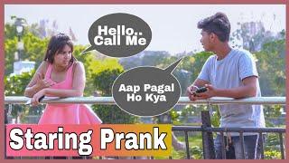 Staring Prank On Boys -By Shelly Sharma -P4 prank