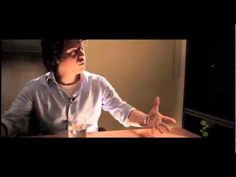 video entrevista com o estagiario