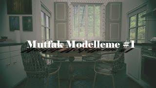 3ds Max Mutfak Modelleme Bölüm 1