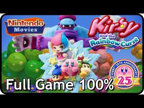 Kirby and the Rainbow Curse / Paintbrush - Full Game (100% Multiplayer Walkthrough)