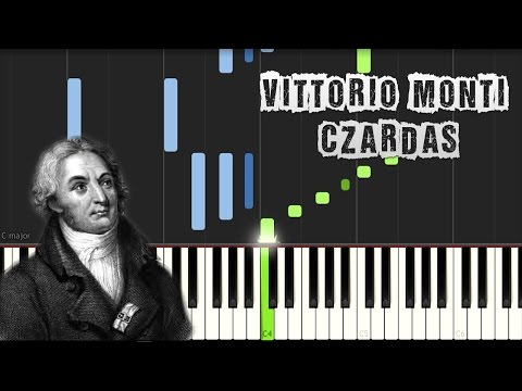 Vittorio Monti - Czardas (Csárdás) - Piano Tutorial Synthesia (Download MIDI + PDF Sheets)