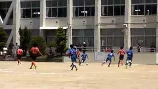 【少年サッカー】2014全日本少年サッカー愛知県大会一回戦 ASラランジャ vs 滝ノ水FC・with