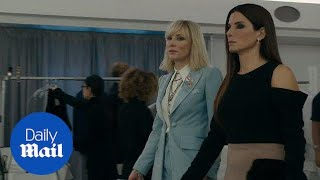 Ocean's 8 teaser gives us our first look at female-led film - Daily Mail