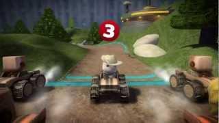 LittleBigPlanet Karting - Community Levels Online Multiplayer - Part 1 HD