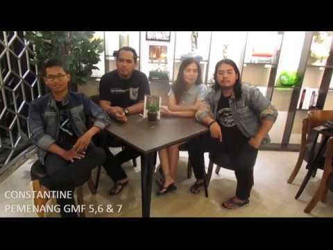 Wawancara group band Constantine (Band Pontianak)