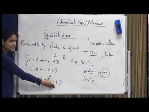 (Chemistry) Chemical Equilibrium (03.12.2017)
