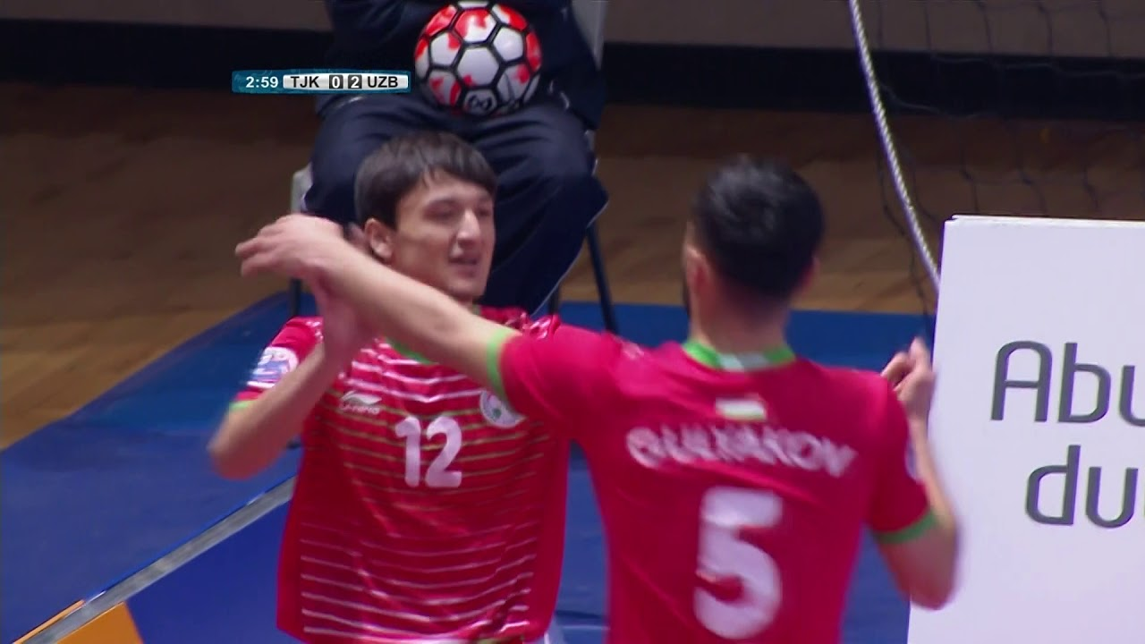 Video: Futsal Tajikistan vs Futsal Uzbekistan
