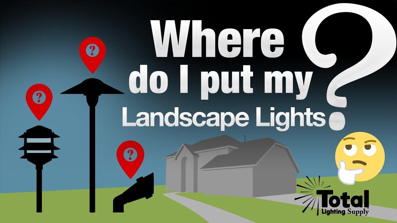Low Voltage Outdoor Landscape Lights