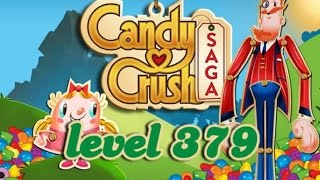 Candy Crush Saga Level 379 - ★★ - 90,200