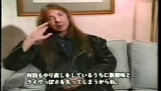 Iron Maiden - No Prayer On Tour Documentary 1990 (Part 3/5) Re-up