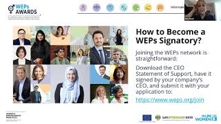 WEPs Awards – Philippines Live Info Session 1
