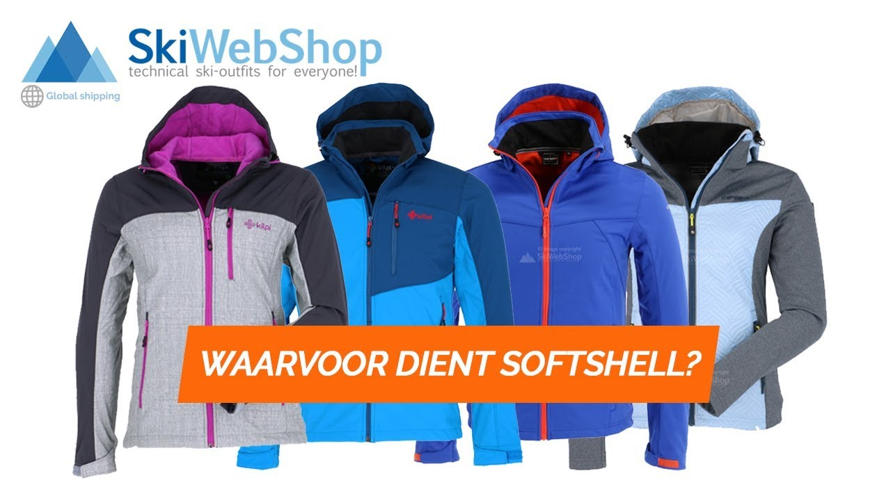 Wat is een Softshell ski-jas of broek?