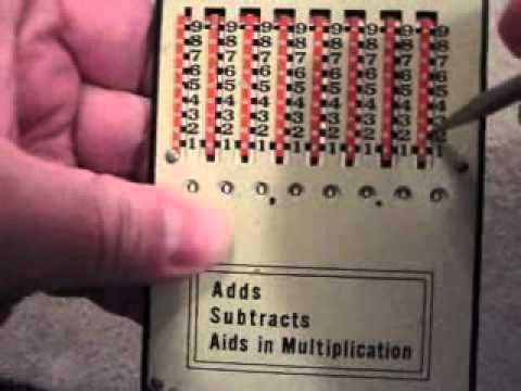 Kalkometer - circa 1930's Calculator