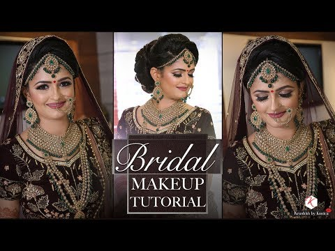 2018 Latest Bridal Makeup Tutorials