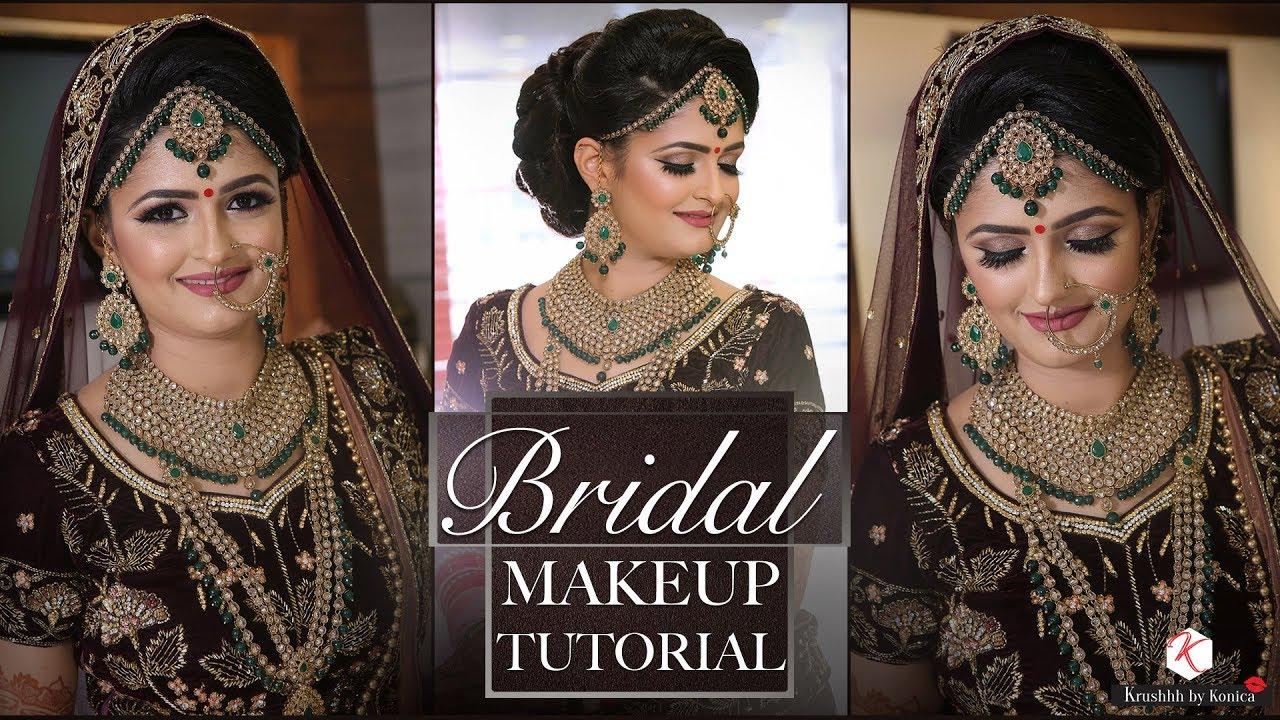 Best Makeup Tutorial For Indian Bride 2018 Latest Bridal Makeup