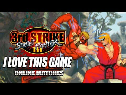 LOVE THIS GAME...SO MUCH: 3rd Strike - The Online Warrior Episode 87