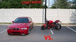 Ducati VS BMW M3 STREETRACING