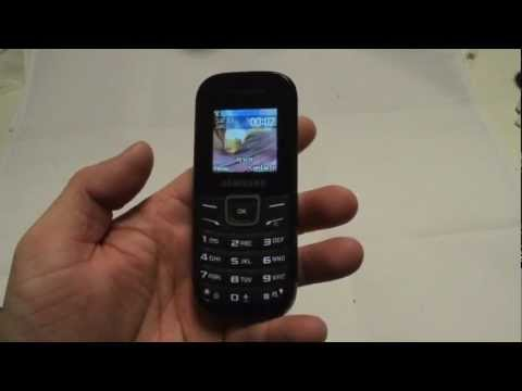 Samsung E1200 Unboxing & review Cheap Mobile Phone