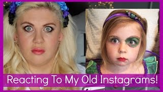 Reacting To My Old Instagrams!!