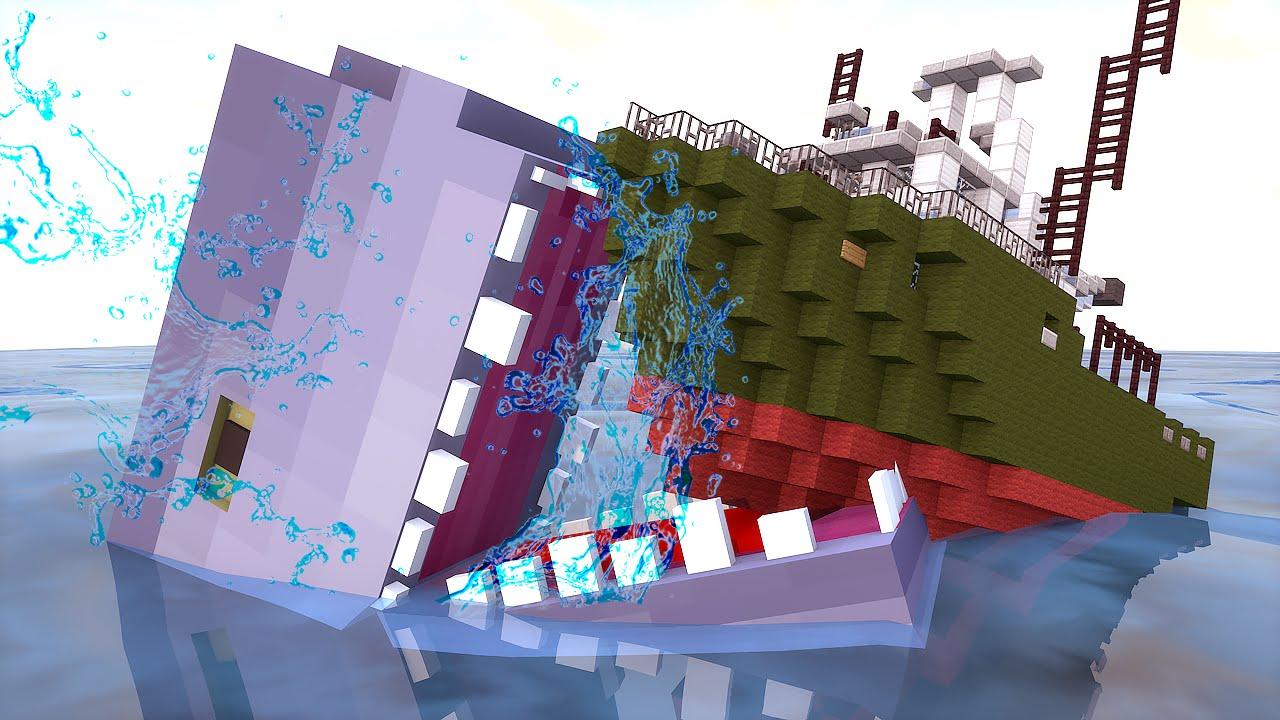 Minecraft Mod: Tubarão e Animais REALISTAS !! - Shark Mod