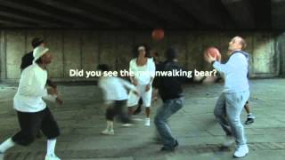 TFL Viral  Awareness Test Moonwalking Bear)
