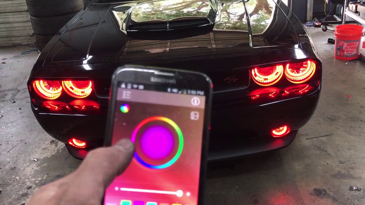 Halo Lights For Dodge Charger 2013 Iron Blog