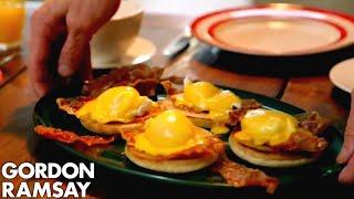 Download Eggs Benedict With Crispy Parma Ham | Gordon Ramsay Mp3 and Videos