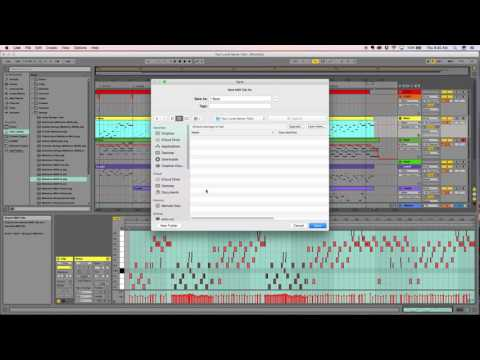 Converting Ableton Midi to musical notation