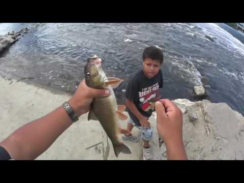 Fishing For Catfish On The Grand River (Grand Rapids MI)