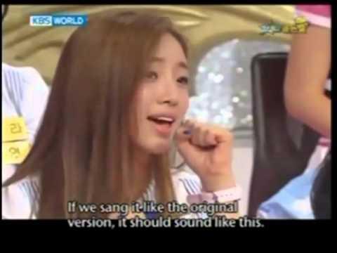 T-ara Eunjung LONG HAIR [debut]