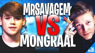 Secret Mongraal 1 VS 1 MrSavageM | Fortnite Creative *CONTROLLER VS CONTROLLER BATTLE*