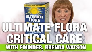 Renew Life Ultimate Flora Critical Care with Renew Life Founder Brenda Watson