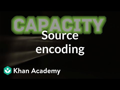 Source encoding | Journey into information theory | Computer Science | Khan Academy