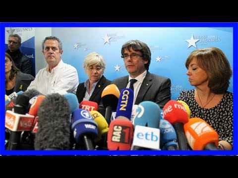 Catalonia crisis: puigdemont orders spain to free catalan leaders – 'it's a big mistake'