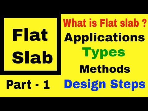 Introduction of Flat Slab in Hindi