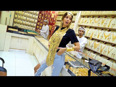 Gold Shopping In Dubai! *MOST AFFORDABLE GOLD MARKET*