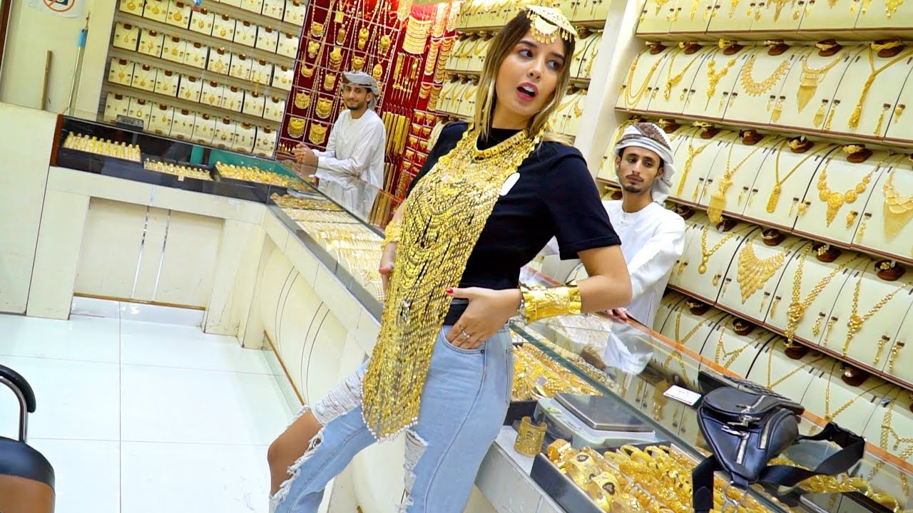 Gold Shopping In Dubai Most Affordable Gold Market Youtube