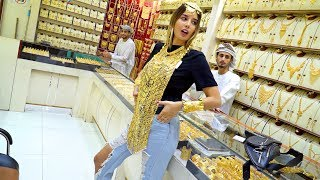 Gold Shopping in Dubai! MOST AFFORDABLE GOLD MARKET