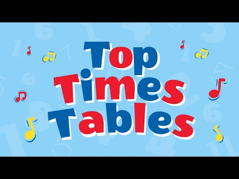 Times Tables 1 12 Multiplication Songs Playlist Children Love To