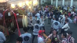 2017年 7月16日 四日市市松原の石取祭り (聖武天皇社大祭) iPad Air 2で...