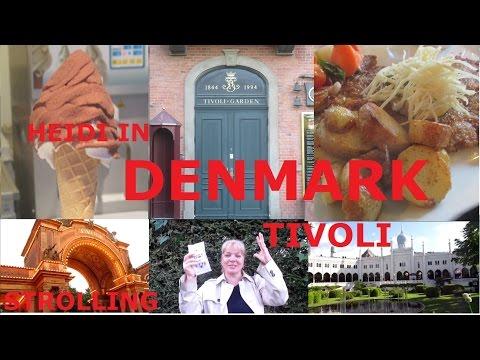 Heidi in Denmark | Dinner, Theater and Shopping in Tivoli Gardens